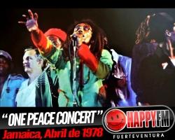 Se cumplen 40 años del 'One Peace Concert' de Bob Marley
