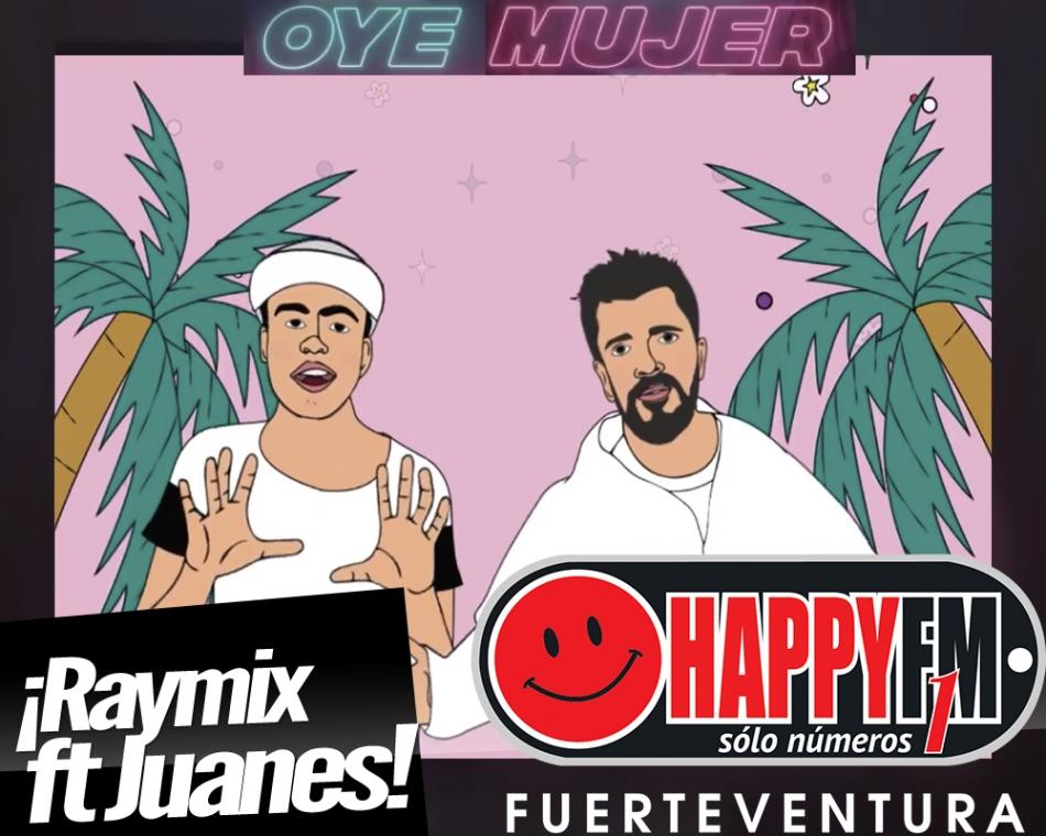 """Juanes se une a Raymix en una nueva versión de """"Oye Mujer"""""""
