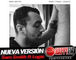 """Sam Smith estrena nueva versión de """"Pray"""" junto a LOGIC"""