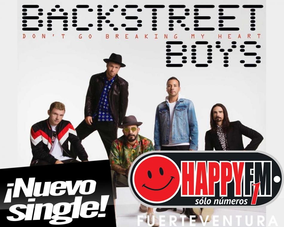 """""""Don't Go Breaking My Heart"""" es lo nuevo de Backstreet Boys"""