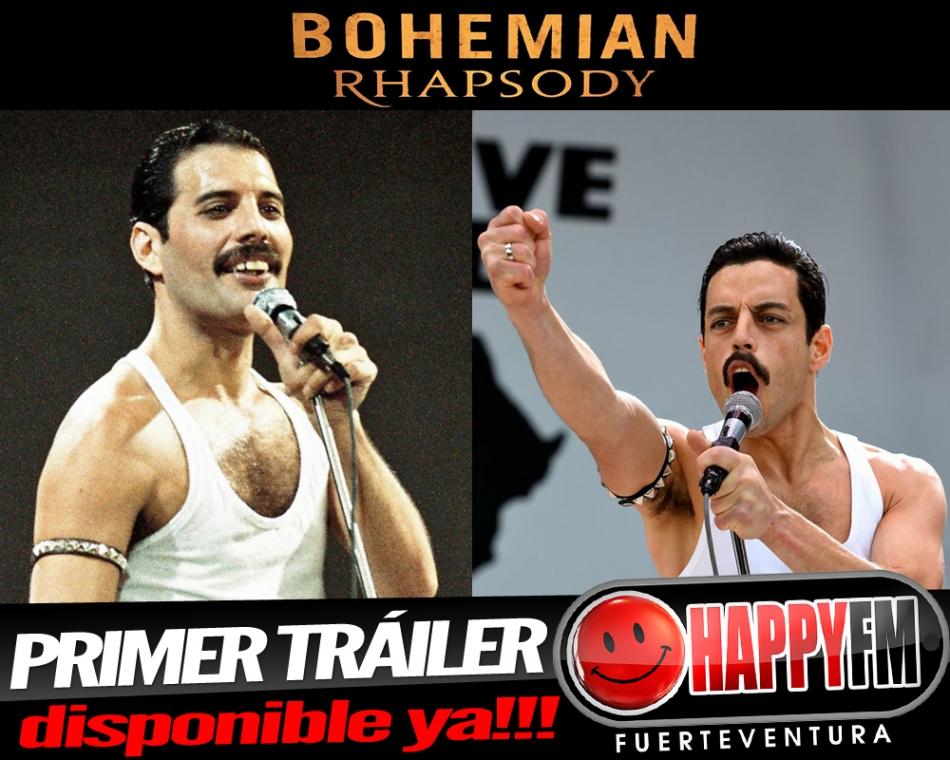 Ya puedes ver el primer tráiler de Bohemian Rhapsody