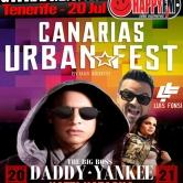 Canarias Urban Fest: Luís Fonsi, Daddy Yankee y Natti Natasha en Tenerife
