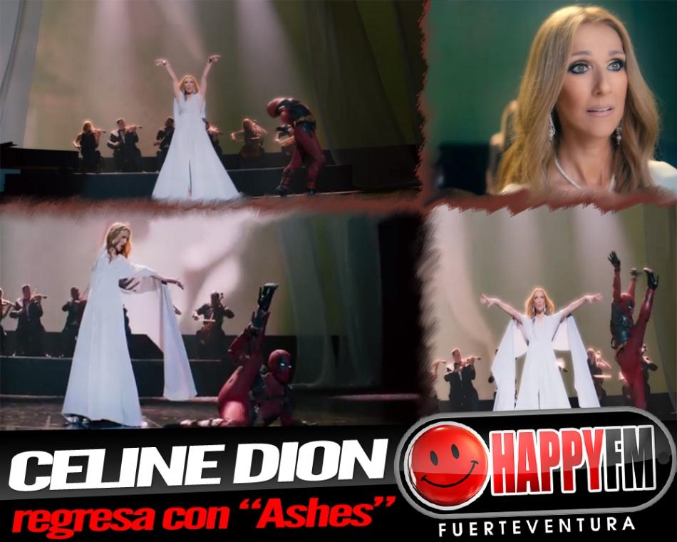 """Celine Dion regresa con un tema de película, """"Ashes"""""""