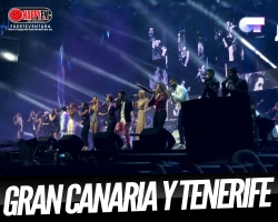 Los chicos de OT 2017 llegan a Tenerife y Gran Canaria