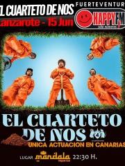Cuarteto de Nos en Lanzarote, único concierto en Canarias