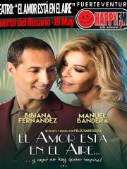 """Comedia Musical: """"El amor está en el aire"""" con Bibiana Fernández y Manuel Bandera"""