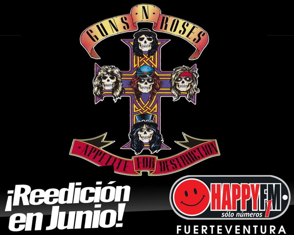 """Guns N Roses preparan la reedición de su emblemático """"Appetite For Destruction"""""""