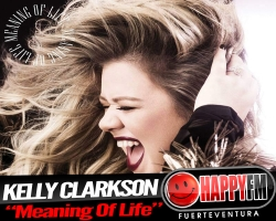 "Kelly  Clarkson presenta ""Meaning of Life"""