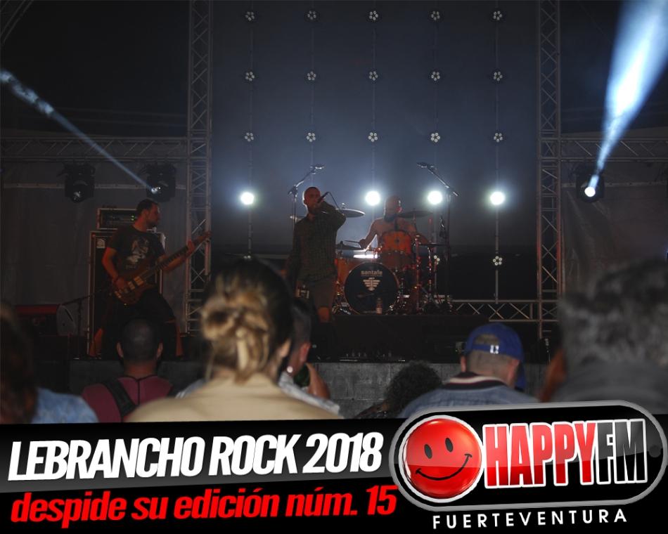 Lebrancho Rock 2018 despide su edición número 15