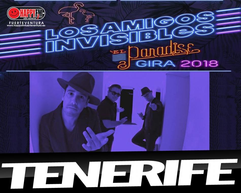 Concierto de Los Amigos Invisibles en Tenerife