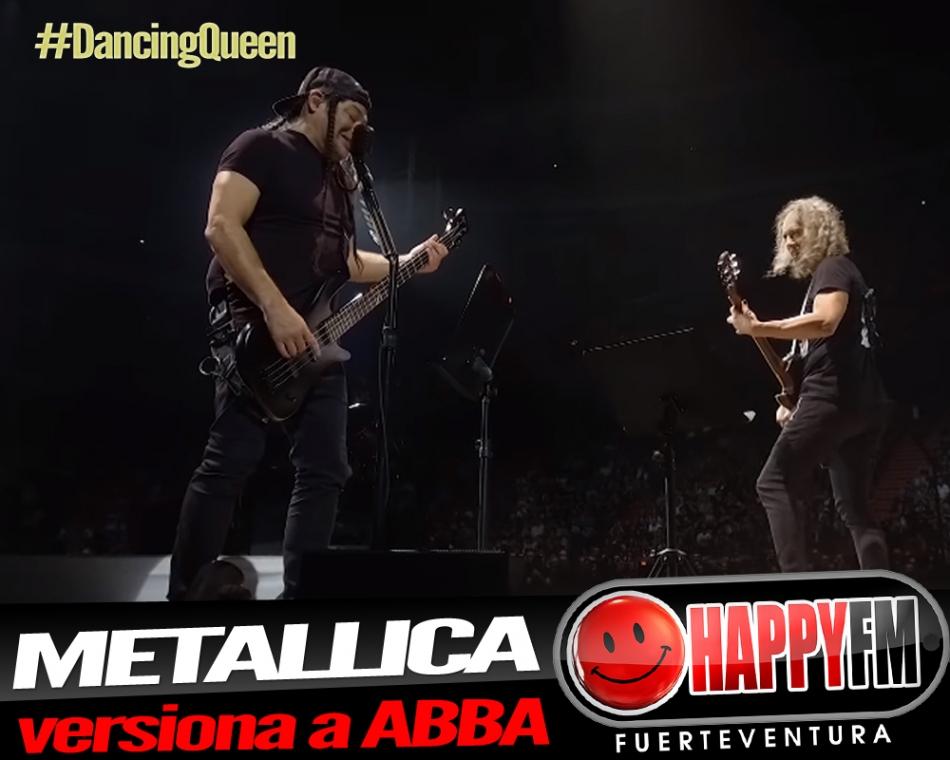 """Metallica versiona """"Dancing Queen"""" de ABBA"""