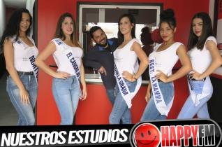Visita de las candidatas Miss Universe Spain Fuerteventura 2018 a los estudios de Happy FM – Fuerteventura