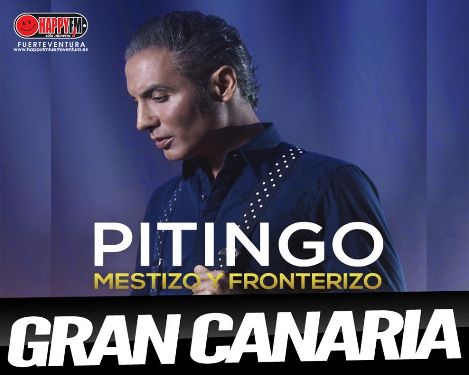 """Pitingo presentará en directo """"Mestizo y Fronterizo"""" en Gran Canaria"""