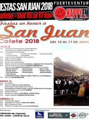 Fiestas en honor a San Juan 2018 en Cofete (del 15 al 17 de Junio)
