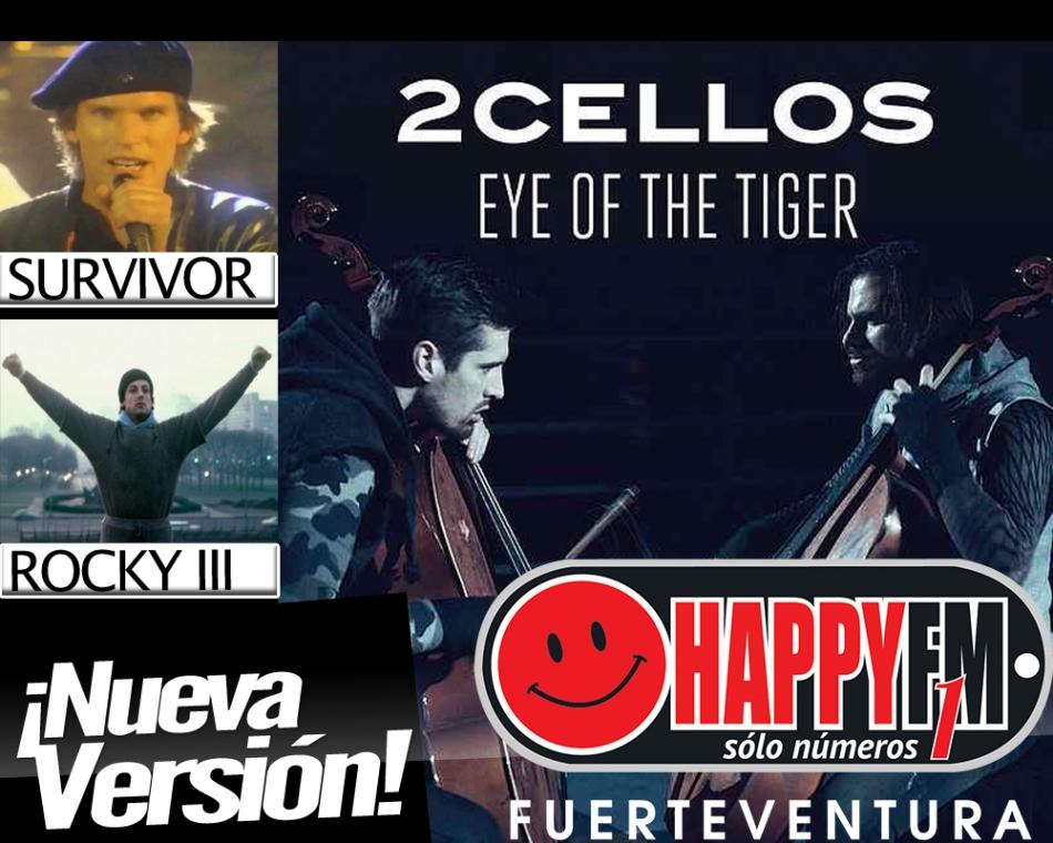 """2Cellos publican una versión del mítico """"The Eye Of The Tiger"""""""
