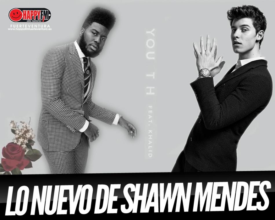 """Khalid colabora en el nuevo single de Shawn Mendes, """"Youth"""""""