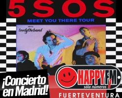 5SOS anuncian concierto en Madrid