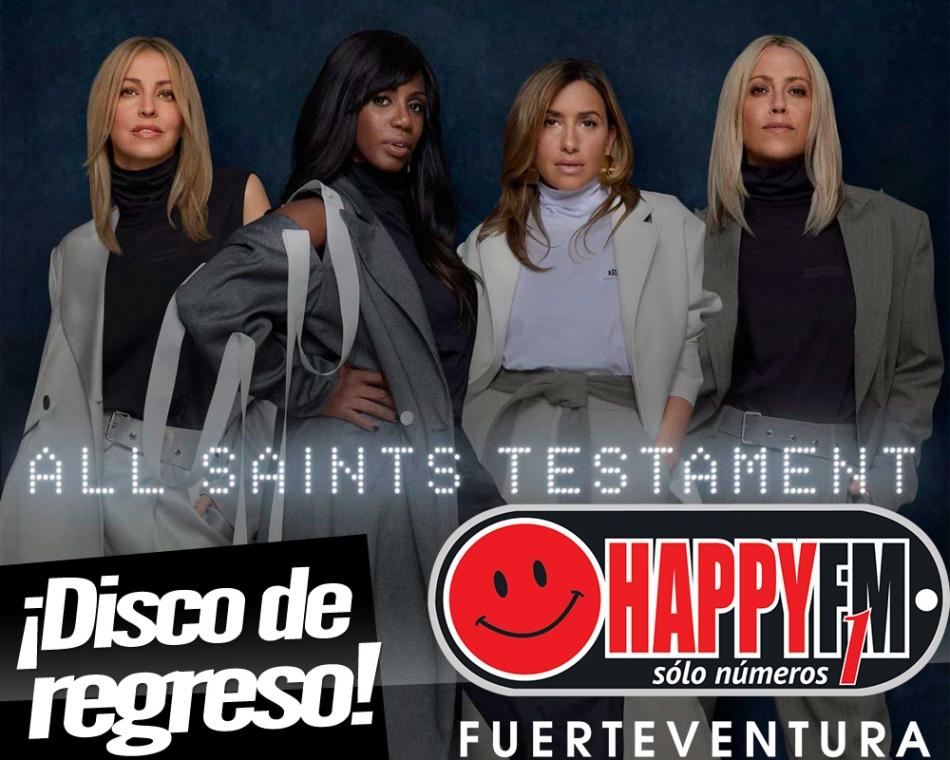 """Testament"" es el disco de regreso de All Saints"