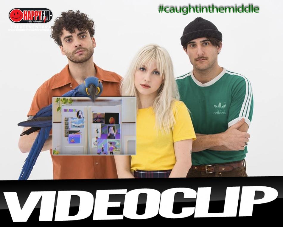 "Paramore estrena el videoclip del tema ""Caught In The Middle"""