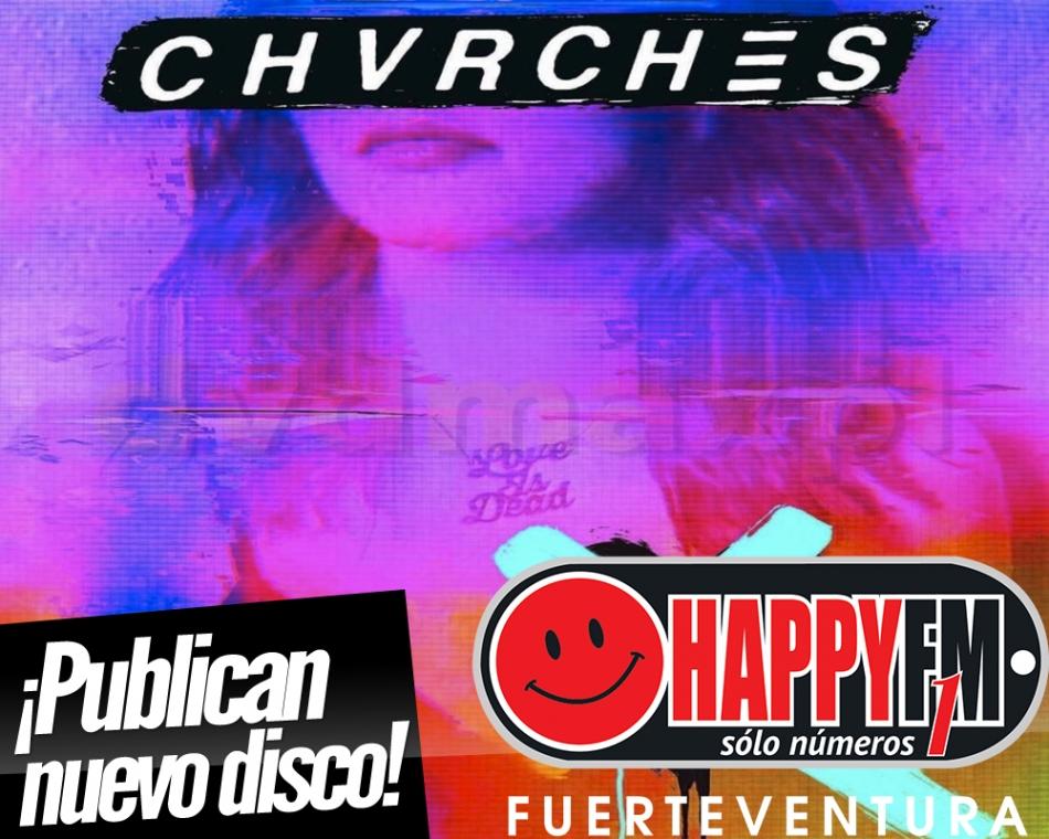 """Chvrches publican nuevo disco titulado """"Love Is Dead"""""""