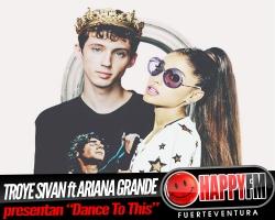 Ariana Grande colabora en el nuevo single de Troye Sivan
