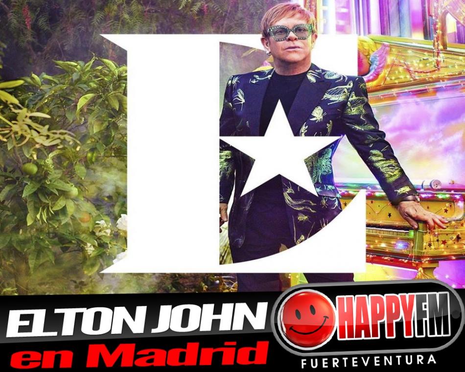 La gira 'Farewell Yellow Brick Road' de Elton John pasará por Madrid