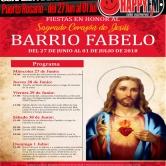 Fiestas en honor al Sagrado Corazón de Jesús en el Barrio Fabelo 2018 (del 27 de Junio al 01 de Julio)