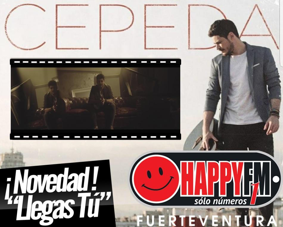 """""""Llegas Tú"""" es el nuevo single de Cepeda"""