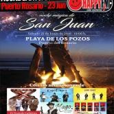 Noche mágica de San Juan 2018 en Puerto del Rosario