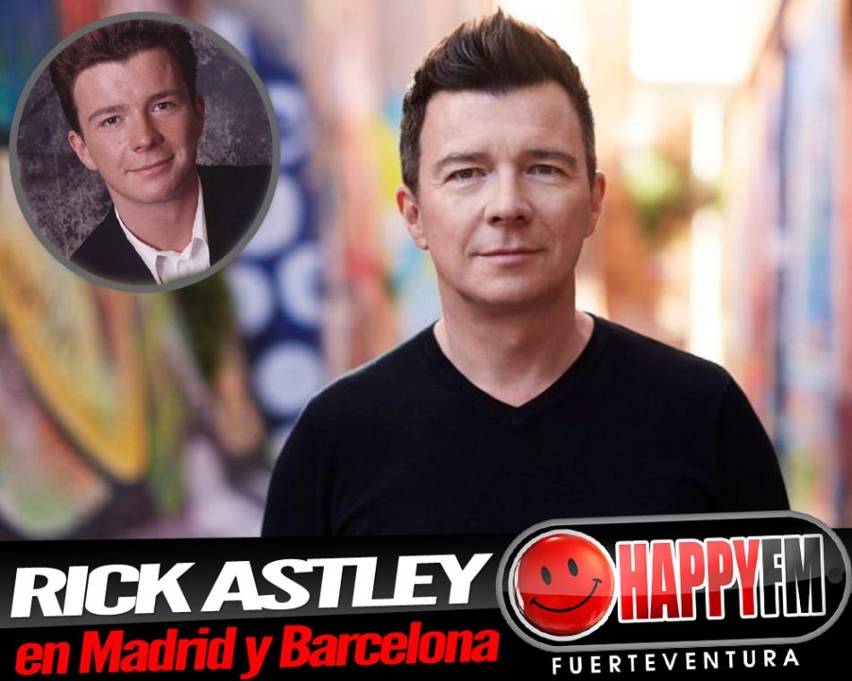 Conciertos de Rick Astley en Madrid y Barcelona