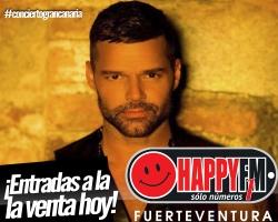 Hoy se ponen a la venta las entradas para el concierto de Ricky Martin en Gran Canaria