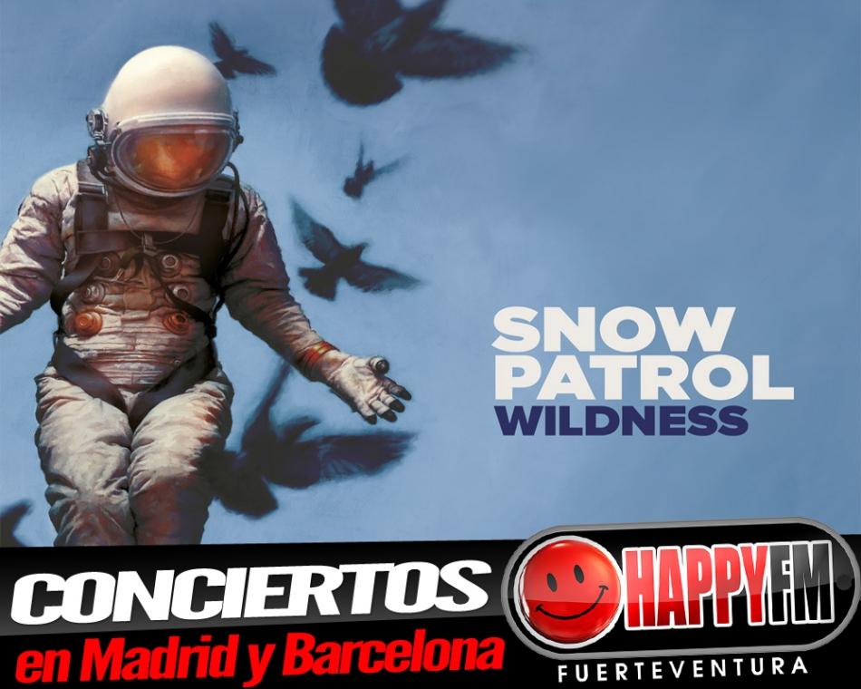Snow Patrol anuncia conciertos en Madrid y Barcelona