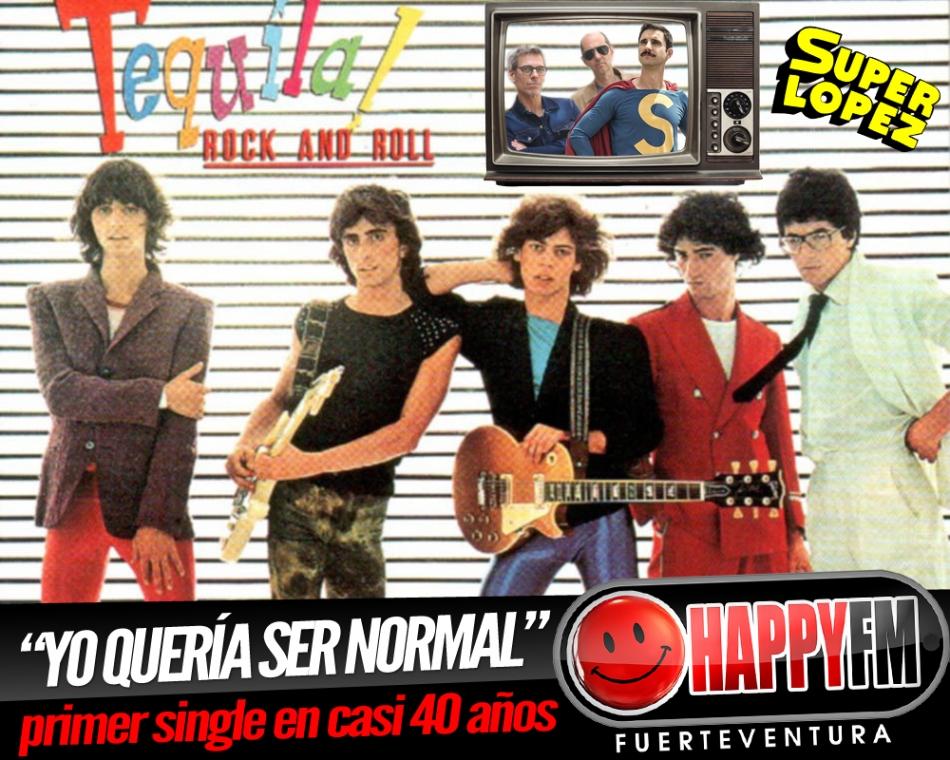 """""""Yo Quería Ser Normal"""" primer single nuevo de Tequila en 40 años"""