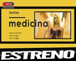 """Anitta nos da a probar de su nueva """"Medicina"""""""