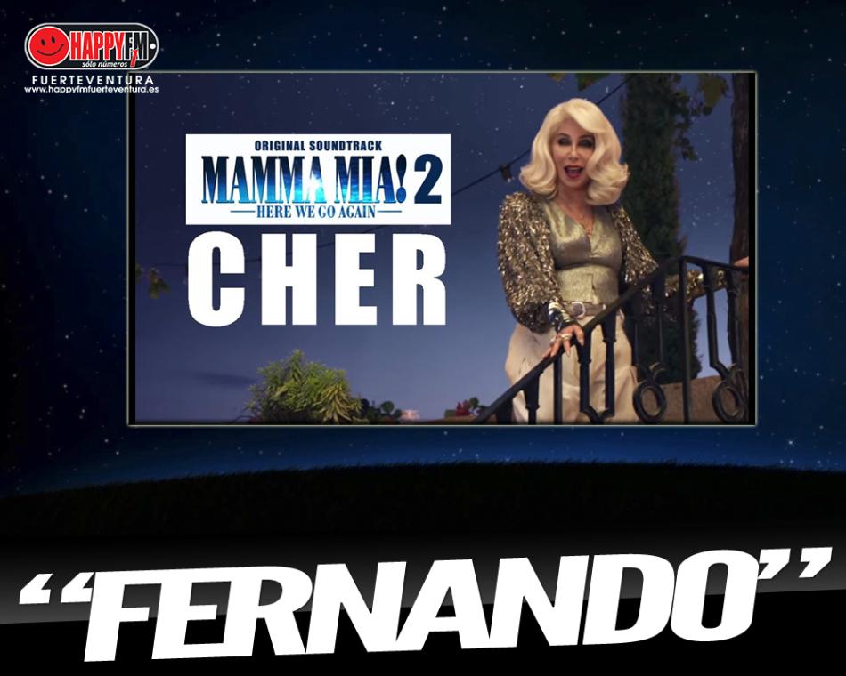 """Cher versiona el tema """"Fernando"""" para la BSO de la secuela 'MAMMA MIA!'"""