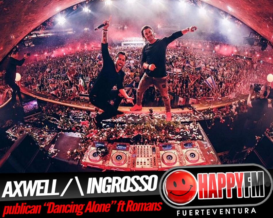 """""""Dancing Alone"""" es lo nuevo de Axwell /\ Ingrosso ft RØMANS"""