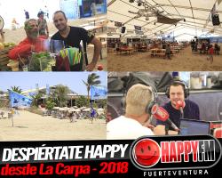 Despiértate Happy desde La Carpa – 2018
