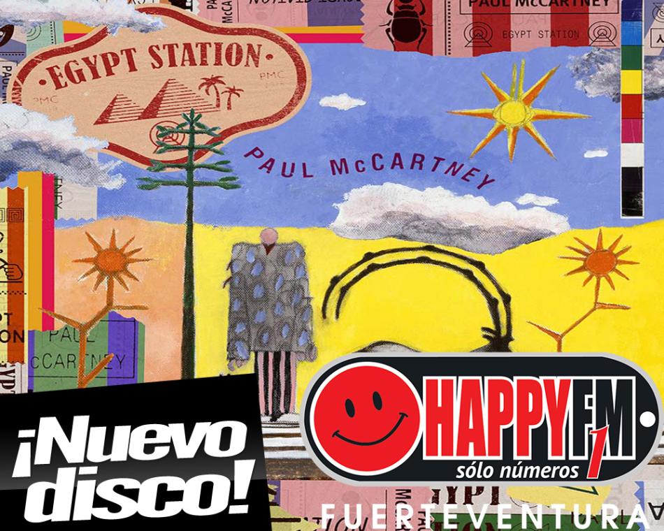 "Paul Mc Cartney publica el disco ""Egypt Station"""