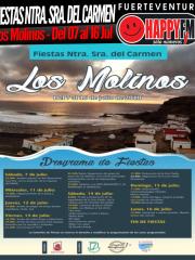 Fiestas en honor a Nuestra Señora del Carmen en Los Molinos (Del 07 al 16 Jul)