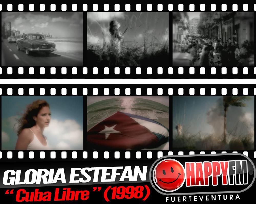 """""""Cuba Libre"""" es un éxito de Gloria Estefan de 1998"""
