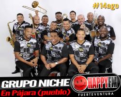 Grupo Niche en Pájara (pueblo) en el mes de Agosto