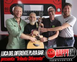 """Luca del Diferente Playa Bar nos presenta el """"Tributo Diferente"""""""
