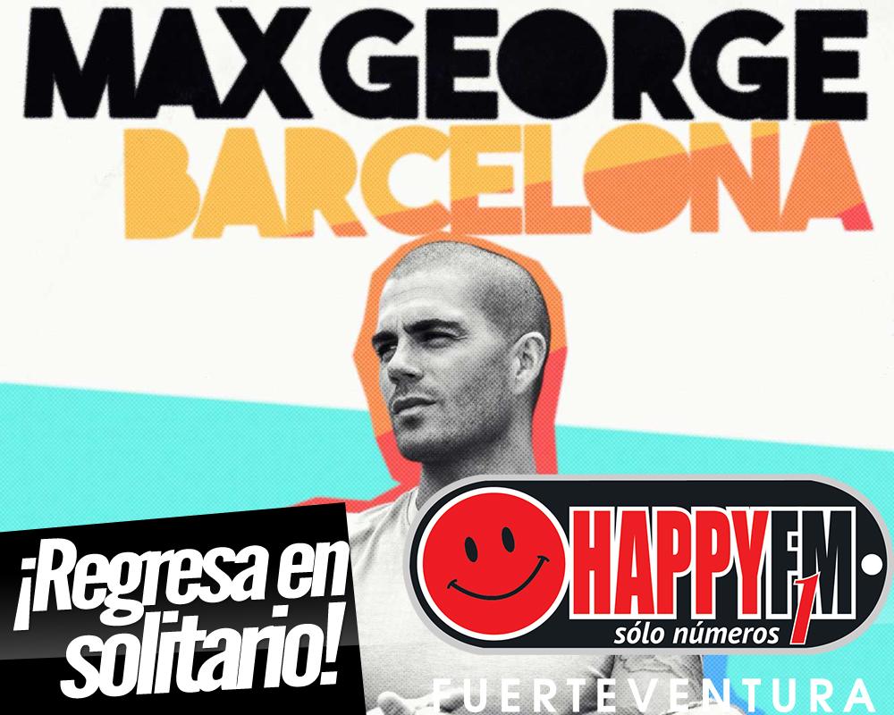 """Max George (The Wanted) presenta """"Barcelona"""", su primer single en solitario"""