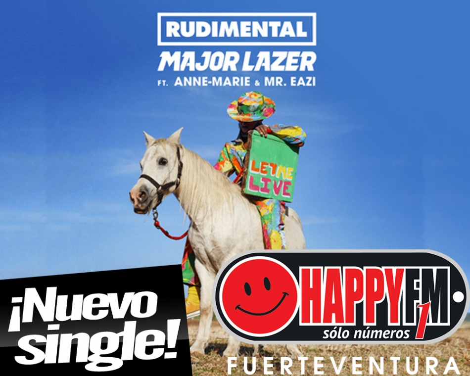 "Rudimental publica ""Let Me Live"" ft Major Lazer"