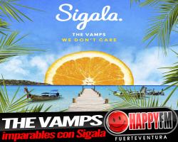 """The Vamps imparables con """"We Do Not Care"""", acompañados de Sigala"""