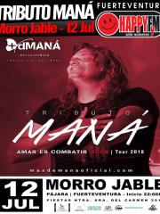 Tributo Maná en las fiestas del Carmen en Morro Jable