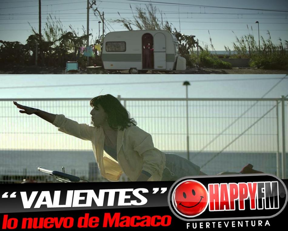 """Macaco publica el single """"Valientes"""", adelanto de su próximo disco"""