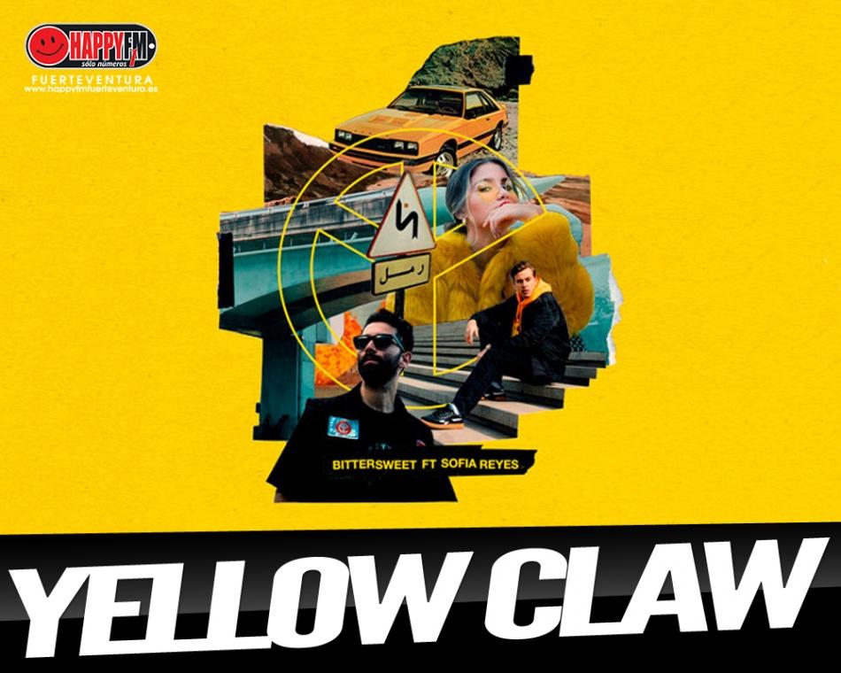 "Yellow Claw ft Sofía Reyes presentan ""Bittersweet"""