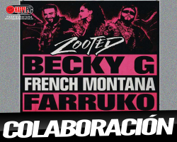 """Becky G publica """"Zooted"""" ft French Montana y Farruko"""