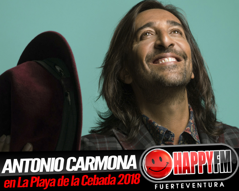 Antonio Carmona de concierto en la Semana Cultural Playa de la Cebada 2018